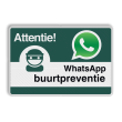 WhatsApp Buurtpreventie - Informatiebord basic