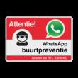 WhatsApp Attentie Buurtpreventie verkeersbord 03