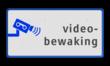 Informatiebord  videobewaking