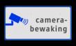 Informatiebord camerabewaking