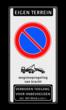 parkeerverbod RVV E01 + wegsleepregeling + verboden toegang Art. 461