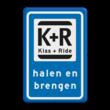 Verkeersbord RVV L52b - K+R