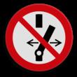 Veiligheidspictogram - Verboden te schakelen - P031
