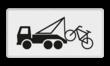Verkeersbord RVV OB304a - Onderbord - Wegknipregeling van kracht