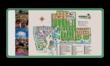 Plattegrond- informatiebord (camping) rechthoek 2:1  full-colour opdruk