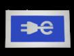 Thermoplast markering elektrische auto - 1200x700mm - inclusief aanbrengen