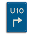 Verkeersbord U-bord