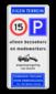Parkeerbord eigen terrein E04/A01-15 + eigen tekst + WSR/VT461
