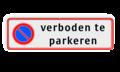 Pictogram + 4 regels tekst