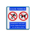 Koptekst - 2 pictogrammen - pictogram