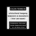 Koptekst - 5 tekstregels + Pictogram