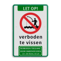 Koptekst - Verkeersteken - 2 tekstregels - Ondertekst