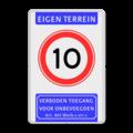 Koptekst + Verkeersteken + Pictogram