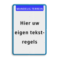 Koptekst + 10 tekstregels