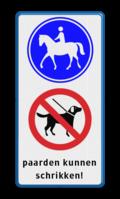 2x Verkeersteken + 3 tekstregels