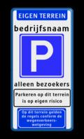 Koptekst + tekstregel + Verkeersteken + tekstregel + Pictogram + Ondertekst