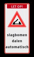 Koptekst + Verkeersteken + 10 Tekstregels