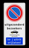 Verkeersteken + 4 tekstregels + Pictogram + Ondertekst