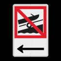Scheepvaartbord BPR A boothelling + picto