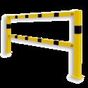Aanrijdbeveiliging - Set stalen liggers (2 stuks)  Beugel, Aanrijdbeveiliging, Magazijn, Beveiliging, Wanden, Muren, Trappen, Steun, Steuning, Ondersteuning