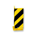 Aanrijdbeveiliging - Hoek aanrijdbeveiliging (SH1) - Elastisch Aanrijdbeveiliging, Aanrijdbeugel, Beugel, Aanrijding, Beveiliging, Ram, Rambeugel, Aanrijdbescherming, Vangrail
