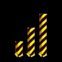 Aanrijdbeveiliging - Hoek aanrijdbeveiliging (SH3) Aanrijdbeveiliging, Aanrijdbeugel, Beugel, Aanrijding, Beveiliging, Ram, Rambeugel, Aanrijdbescherming, Vangrail