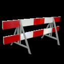 Afzethek Aluminium EZ klasse III rood/wit geledebaak, baken, hek, afzethek, planken, afzetmateriaal