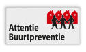 Verkeersbord OV0495 Attentie Buurtpreventie - 01 buurt preventie, attentie