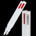 Bermpaal HARPOON 1100x105mm kunststof + reflector reflector palen, berm, afzetpaal
