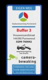 Entreebord LET OP! Het getoonde bord is een voorbeeld, en kan NIET zo besteld worden. Hierop rust auteursrecht. U kunt uw eigen ontwerp aanleveren. Entreebord 400x800mm EIGEN WEG - Logo - txt - WSR + VT461 verboden toegang artikel 461, eigen terrein,  parkeerterrein,parkeren, maximum snelheid, eigen tekst, E4