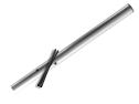 Verkeersbord-buispaal 4500 mm boven de grond paal, bevestigen, vastmaken, buispaal, palen, verkeersbordpaal, bordpaal