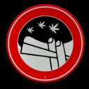 Informatiebord Verboden te plassen / manneke pis Informatiebord blowverbod cadeau, kado, soepbord, plassen verboden, manneke pis, urine, uitgaan, telefoon, uitschakelen