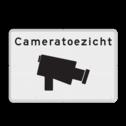 Verkeersbord Cameratoezicht basic cameratoezicht, VPRO