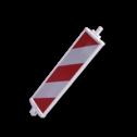 Geleidebaak DZ klasse III rood/wit geledebaak, baken, schild , afzetmateriaal