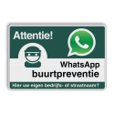 WhatsApp Attentie Buurtpreventie verkeersbord 01 Whats App, WhatsApp, watsapp, preventie, attentie, velserbroek
