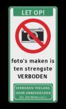 Verkeersbord Verboden te duiken Verkeersbord C01-camera + tekstvlak soepbord, bellen verboden, mobiele telefoon, uitschakelen, mobiel bellen, verboden, C1, foto,