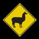 Verkeersbord Australie - LAMA