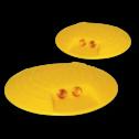 Markeernagel PE geel ø120mm