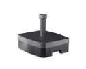 Kunststof verrijdbare voet t.b.v. verkeersbordpaal ø48mm (max. 2000mm)