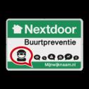 Nextdoor Buurtpreventie verkeersbord 01 Whats App, WhatsApp, watsapp, preventie, attentie, velserbroek