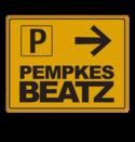 Routebord tijdelijk parkeren + uw logo/beeldmerk evenement, parkeren, tijdelijk