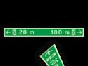 Vluchtroutebord Luminicerend conform DIN67510 Part 4 (Bron 3M) Vluchtroutebord 1800x150x2mm Foto-Luminicerend 3M