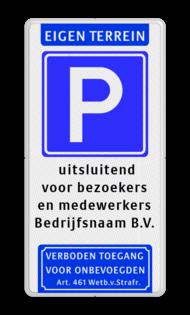 Bekijk alle parkeerborden