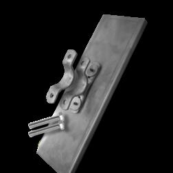 Parkeerbord voor kenteken Alu. 530x120x10mm kentekenframe, kentekenbord, kenteken