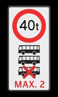 Tekstbord Eigen terrein + RVV C21 + op maat gemaakt, eigen ontwerp Tekstbord et-C21 picto bussen + txt parkeerbord, logo, verboden toegang, engelse tekst, eigen terrein, parkeerverbod, wegsleepregeling, speciale borden, camera, A1