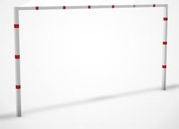 Hoogtebegrenzer SH2 - 2,0 mtr. - Vaststaand - Bodemmontage Doorrijhoogte, Hoogte, Begrenzer, Beperking, parkeergarage, Portaal, Hoogtebalk, C19-vrij invoerbaar, C19, L01