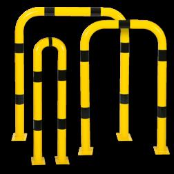Beschermbeugel Ø76mm, rechte uitvoering Aanrijdbeveiliging, Aanrijdbeugel, Beugel, Aanrijding, Beveiliging, Ram, Rambeugel, Aanrijdbescherming, Vangrail
