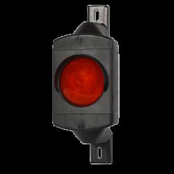 Product ** Exclusief timer en/of besturing van verkeerslicht. ** Inwendig bedraad tot aan klemmenstrook. Attentielicht LED 1xØ100mm 230V stoplicht, stoppen, Verkeerslichten, futurled