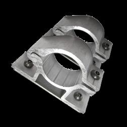 Bordbeugel anti-diefstal (set 2 stuks) Ø48 mm bordbeugel ø48, flespaal, scharnierbeugel