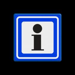 Verkeersbord Informatie Verkeersbord RVV BW101S104 informatiebord
